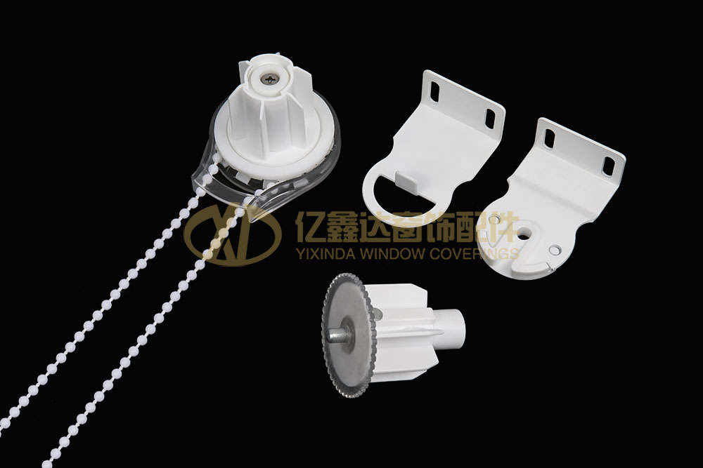 YXD-P011 POM/ABS/IRON 透明花尾制头
